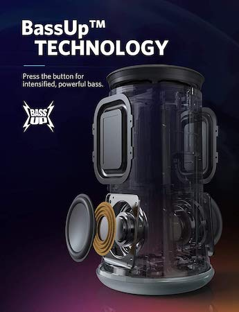 Anker Soundcore Flare Technology