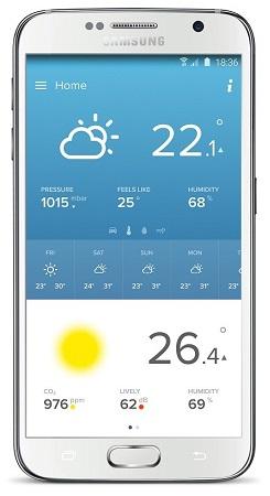 Netatmo NWS01 Mobile App