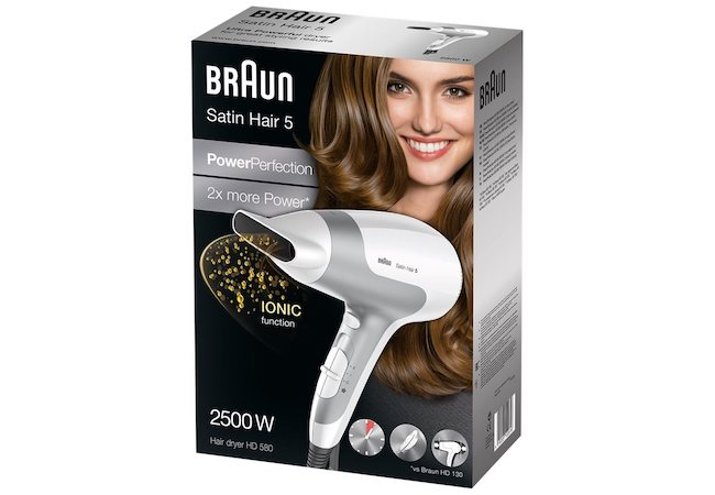 Braun HD 580 box