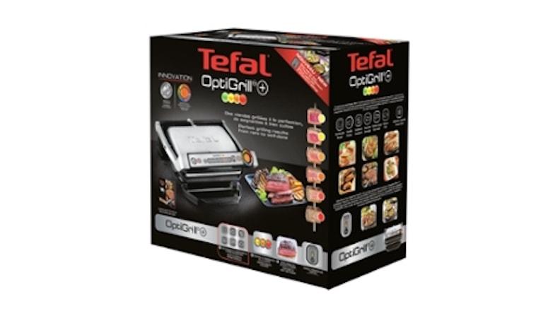 Tefal OptiGrill Plus GC712D Kontaktgrill box