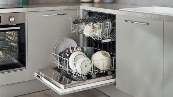 Integreret opvaskemaskine