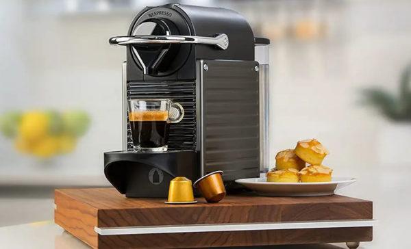 Kaffemaskine til kapsler