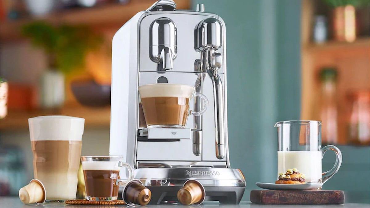 Nespresso maskine