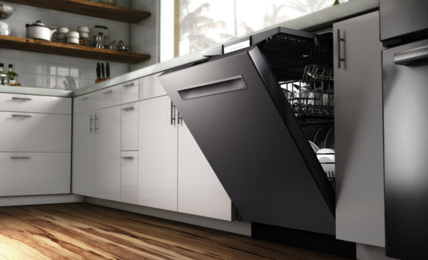 Underbygget opvaskemaskine
